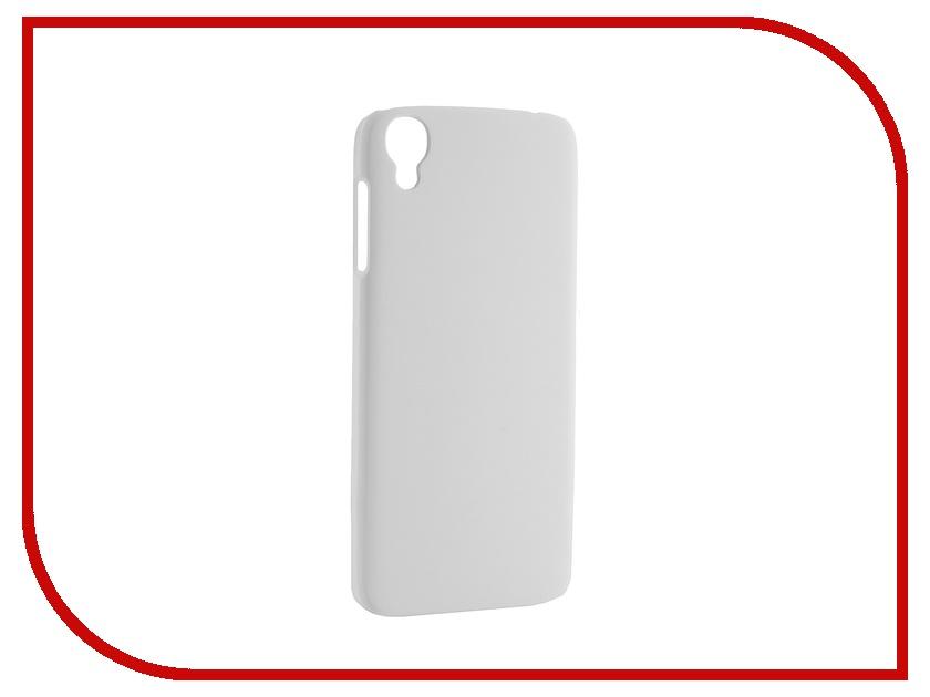 Аксессуар Чехол-накладка Pulsar for Alcatel Idol 3 (4.7) Dual Sim Clipcase PC Soft-Touch White PCC0033<br>