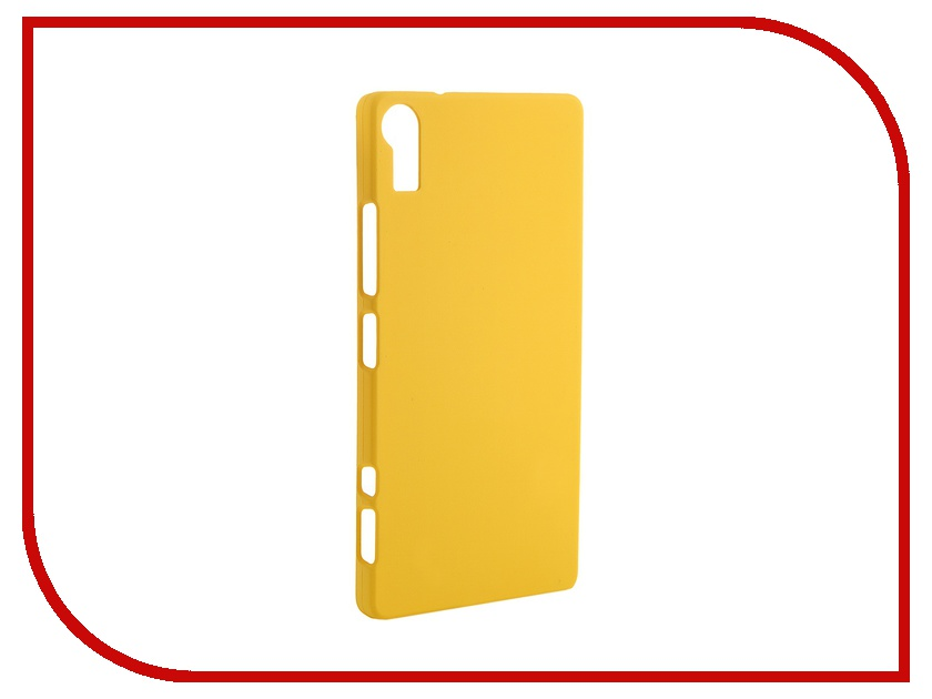 Аксессуар Чехол-накладка Lenovo Vibe Shot Pulsar Clipcase PC Soft-Touch Yellow PCC0117<br>