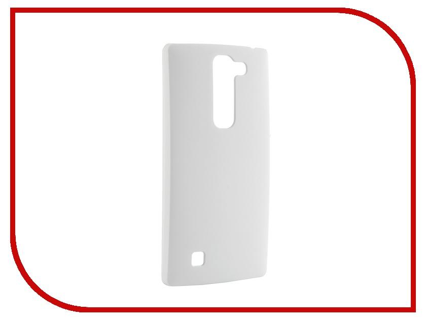 Аксессуар Чехол-накладка LG G4C Pulsar Clipcase PC Soft-Touch White PCC0041<br>