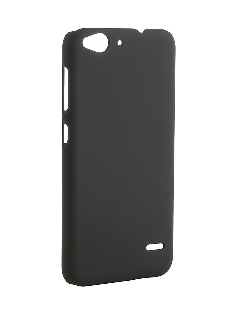 Аксессуар Чехол-накладка ZTE Blade S6 Pulsar Clipcase PC Soft-Touch Black PCC0124<br>