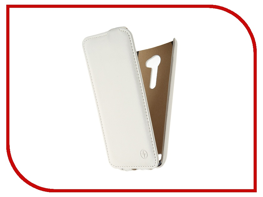 Аксессуар Чехол-флип ASUS ZenFone 2 ZE500CL Pulsar Shellcase White PSC0740
