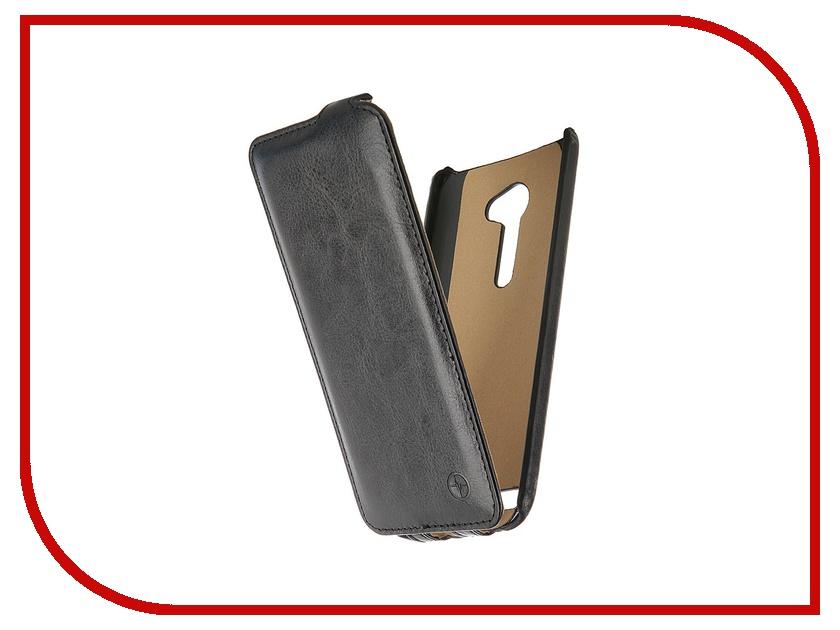 Аксессуар Чехол-флип ASUS ZenFone 2 ZE500CL Pulsar Shellcase Black PSC0739<br>
