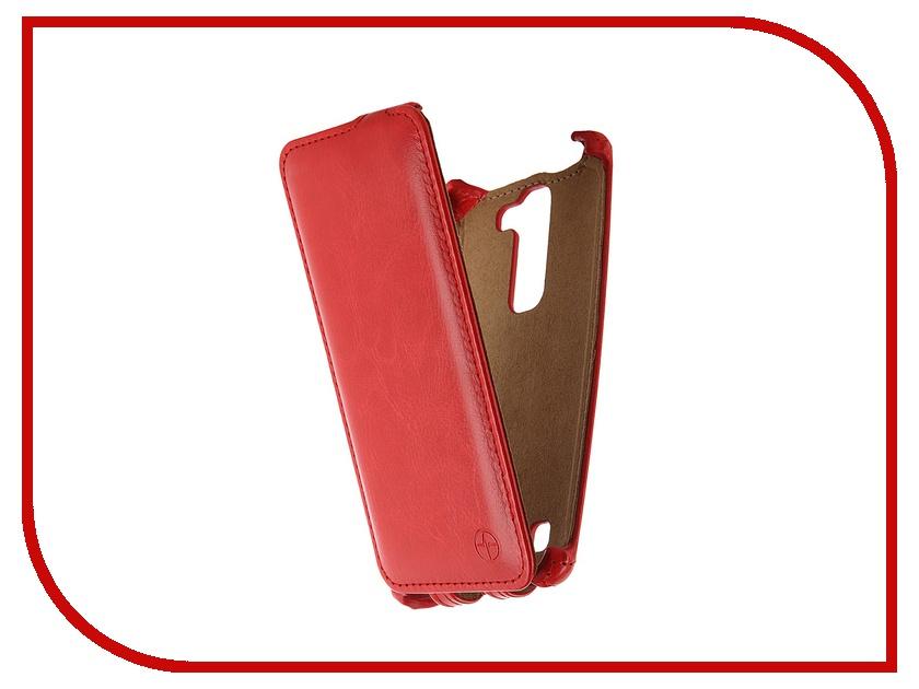 Аксессуар Чехол-флип LG G4 C Pulsar Shellcase Red PSC0748<br>
