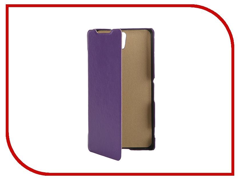 Аксессуар Чехол-флип Sony Xperia C5 Ultra Dual Pulsar Shellcase Purple PSC0793<br>