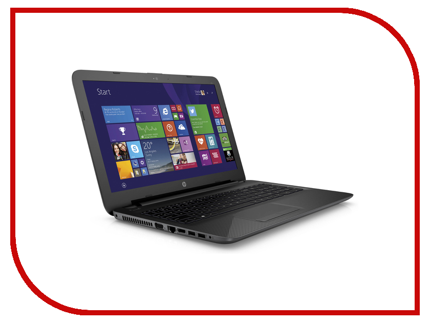 Ноутбук HP 255 G4 N0Y19ES AMD E1-6015 1.4 GHz/2048Mb/500Gb/No DVD/AMD Radeon R2/Wi-Fi/Bluetooth/Cam/15.6/1366x768/Windows 8.1