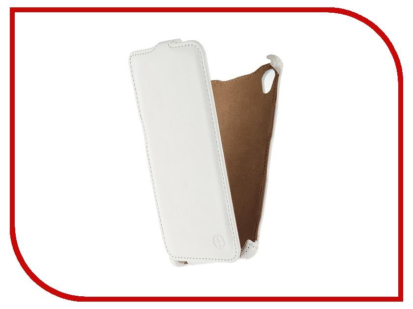 Аксессуар Чехол-флип Sony Xperia M4 Pulsar Shellcase White PSC0706