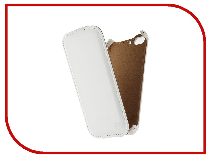 Аксессуар Чехол-флип ZTE Blade S6 Pulsar Shellcase White PSC0792