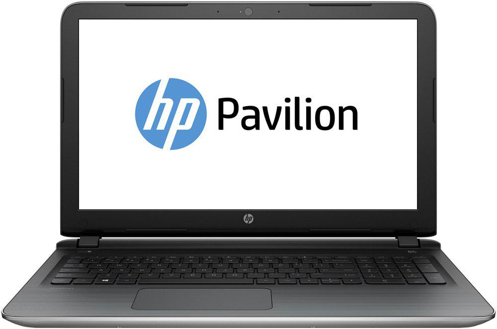 Ноутбук HP Pavilion 15-ab025ur Natural Silver N2H50EA Intel Core i5-5200U 2.2 GHz/6144Mb/1000Gb/DVD-RW/nVidia GeForce 940M 2048Mb/Wi-Fi/Bluetooth/Cam/15.6/1920x1080/Windows 8.1<br>