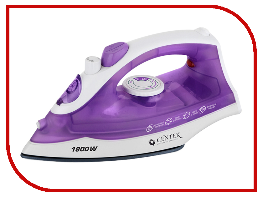 Утюг CENTEK CT-2341 Purple<br>