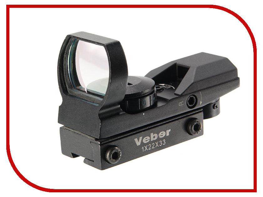 Прицел Veber 1x22x33 RG DVT