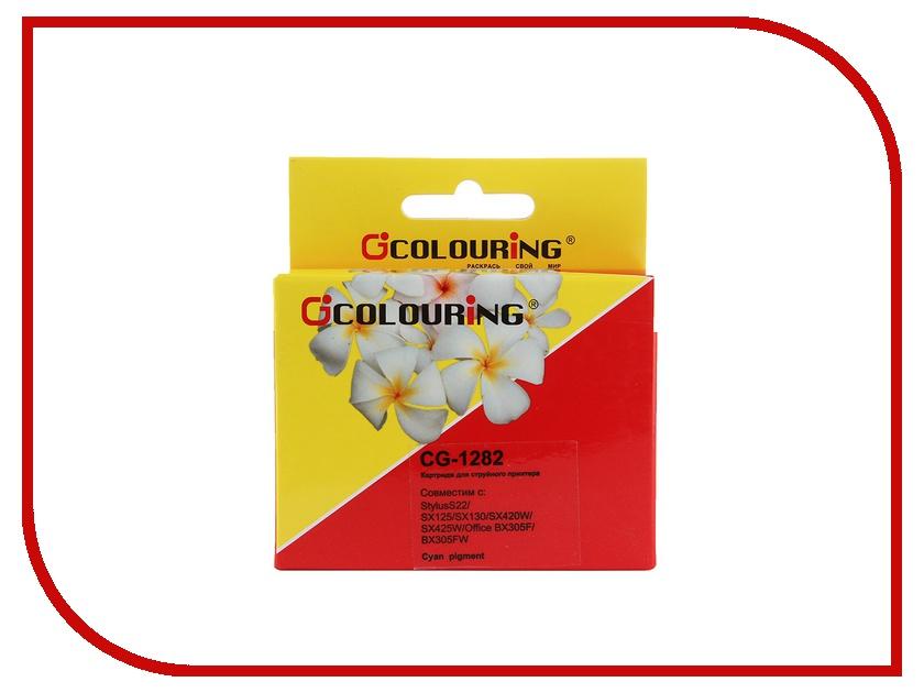 цена на Картридж Colouring CG-1282 Cyan для Epson S22/SX125/SX130/SX420W/SX425W/Office BX305F/BX305FW