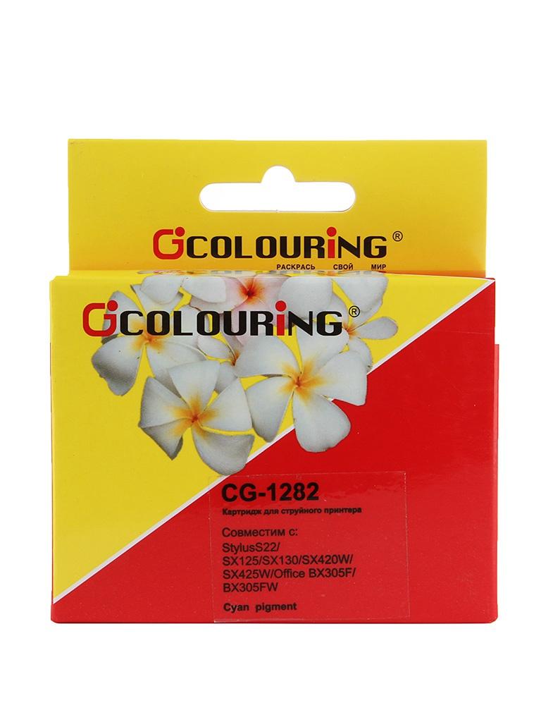 Аксессуар Colouring CG-1282 Cyan для Epson S22/SX125/SX130/SX420W/SX425W/Office BX305F/BX305FW