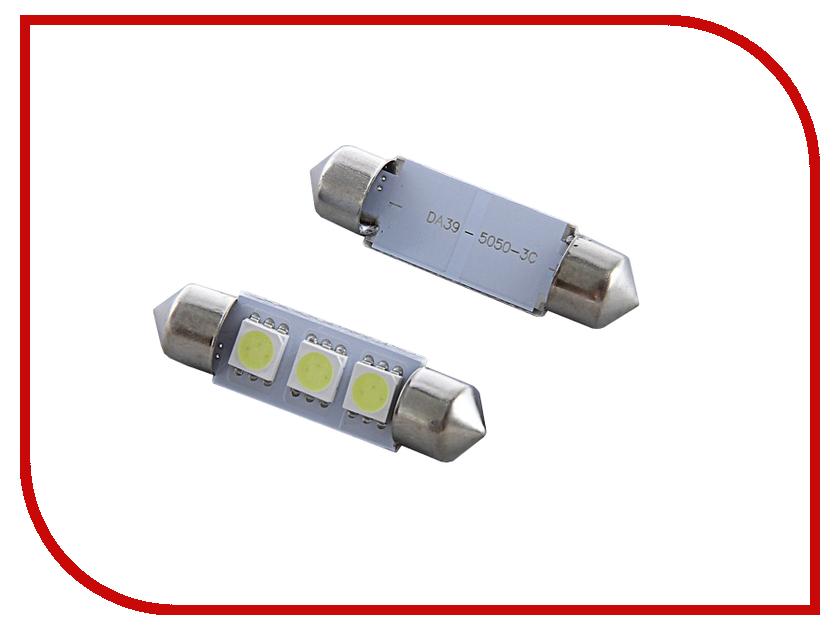 Лампа Luazon C5W FEST SMD-5050 36mm SV8.5 3 118408<br>