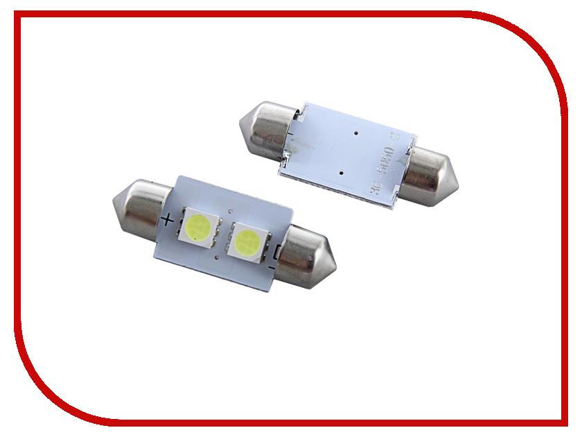 Лампа Luazon C5W FEST SMD-5050 36mm SV8.5 2 118407