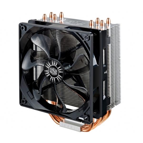Фото - Кулер Cooler Master Hyper 212 EVO RR-212E-16PK-R1 (Intel S775/S1150/1155/S1156/S1356/S1366/S2011/AM2/AM2+/AM3/AM3+/FM1) кулер для процессора cooler master hyper 212 spectrum rr 212a 20pd r1