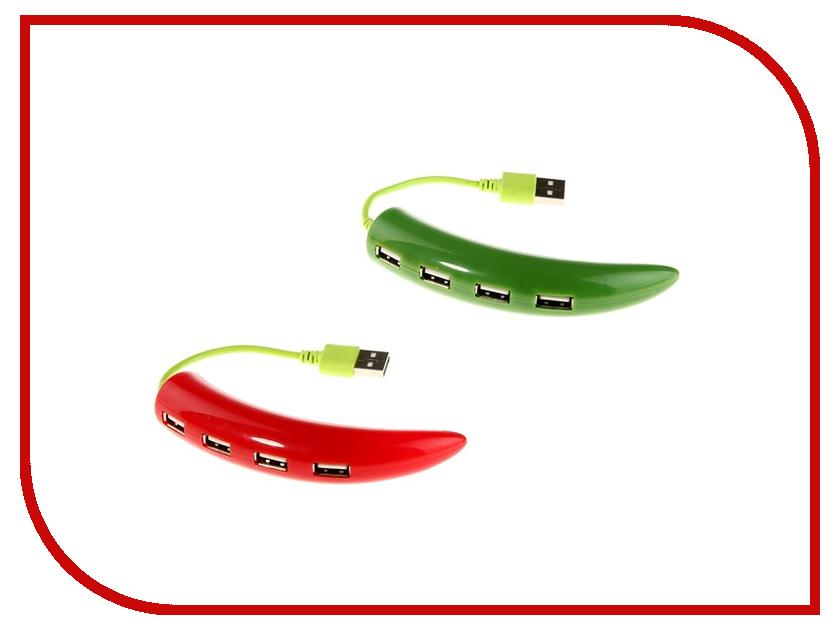 Хаб USB Luazon Перец 4-Ports 906458 В ассортименте