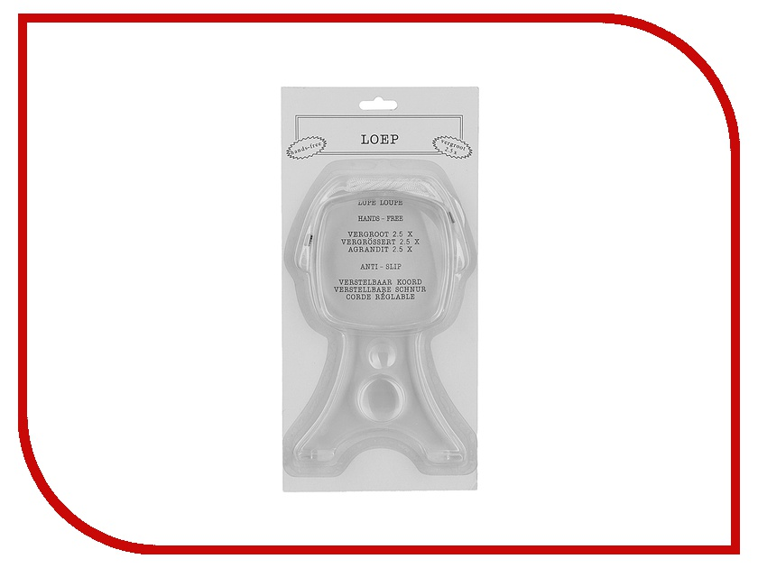 Оптическая лупа Veber 599904
