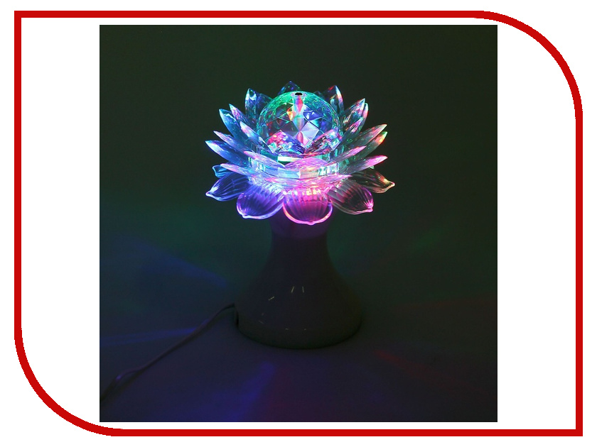 Светильник Luazon Цветок 1077511 White стайлер luazon lw 11 white 1163464