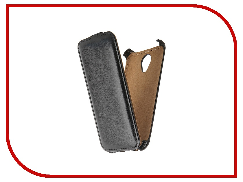 Аксессуар Чехол-флип Micromax Canvas Spark Q380 Pulsar Shellcase Black PSC0755