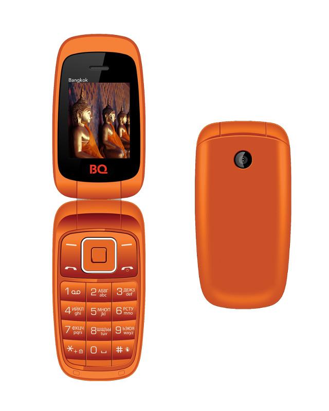 Сотовый телефон BQ BQM-1801 Bangkok Orange<br>
