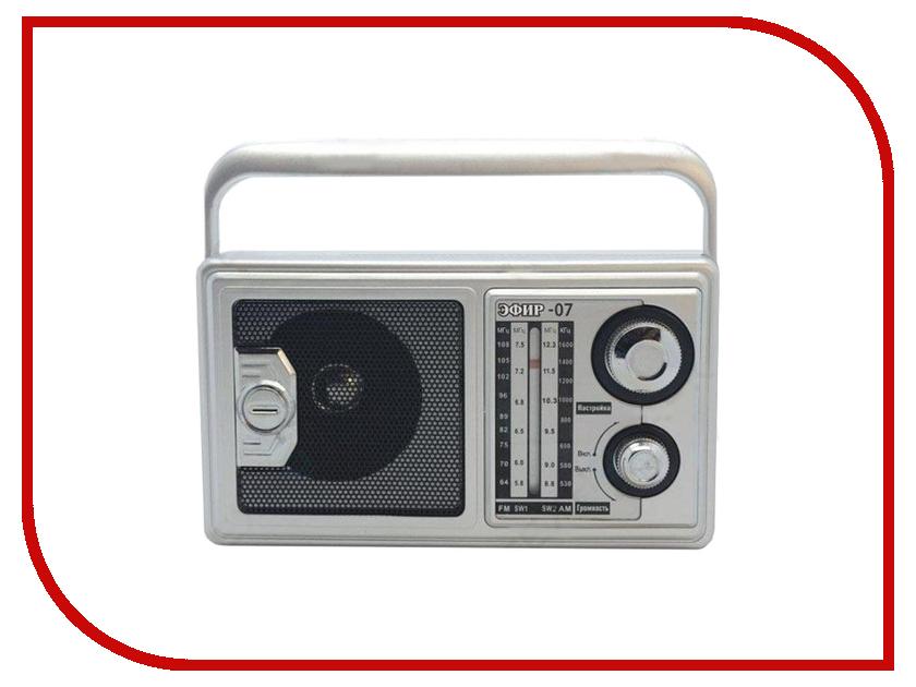 Радиоприемник Сигнал electronics Эфир 07 Grey