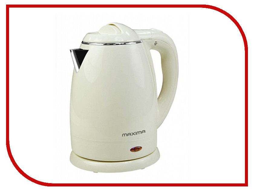 Чайник Maxima MK-M421 White<br>