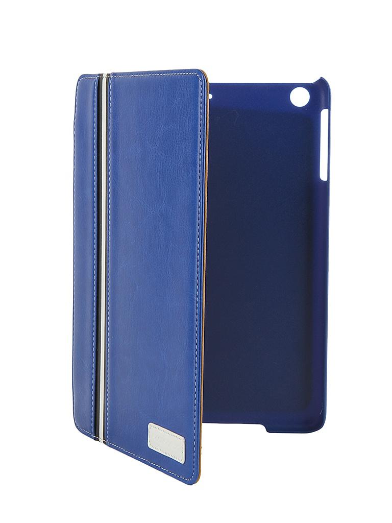 Аксессуар Чехол MOMAX Flip Diary для iPad mini Retina Blue<br>