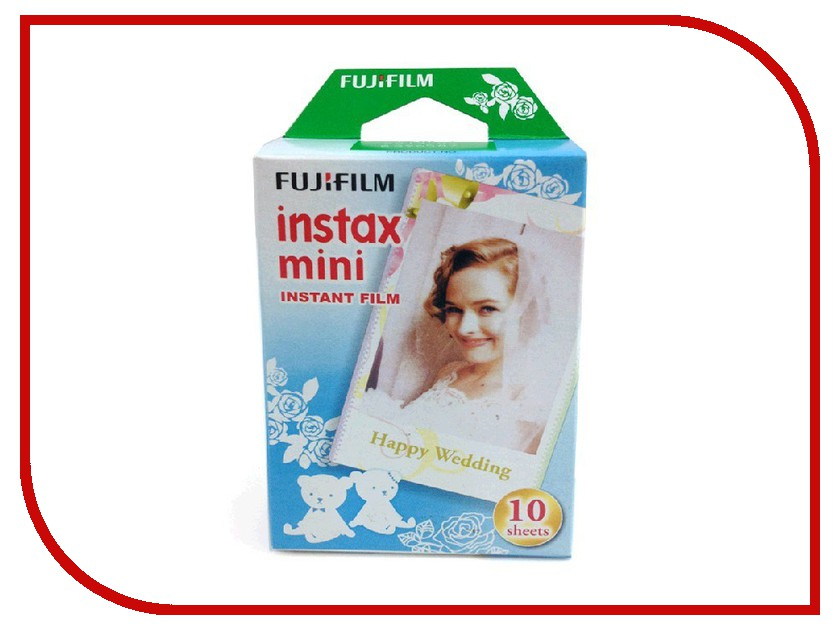 Аксессуар FujiFilm Colorfilm Wedding 10/1PK для Instax Mini<br>