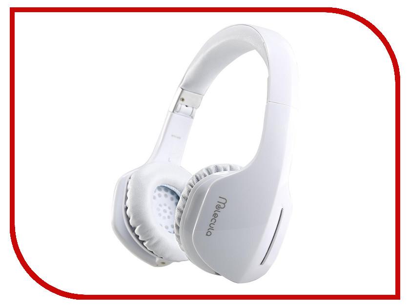 Гарнитура Molecula BTH-402 White<br>