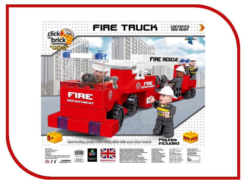 Конструктор Click Brick Пожарная Машина 0197