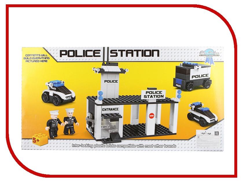 Игрушка Конструктор Click Brick Полицейский Участок 0203<br>