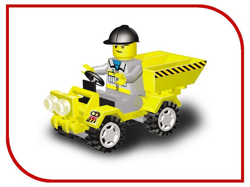 Конструктор SuperBlock Большая стройка Грузовик XS MF002946 склад уникальных товаров конструктор superblock police большая машина l