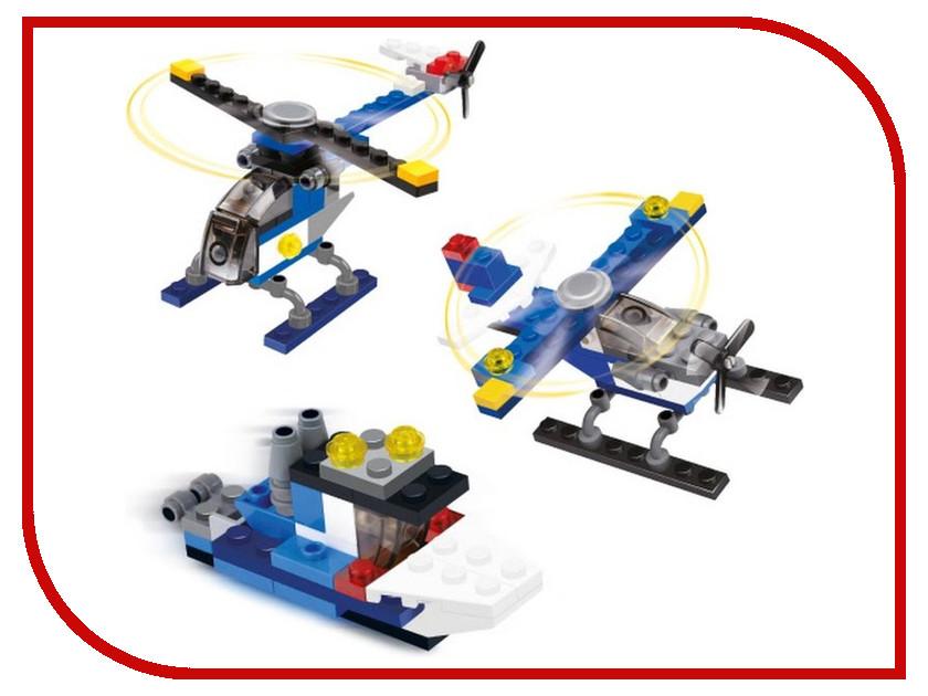 Игрушка Конструктор SuperBlock Самолет, Вертолет, Катер S MF004547<br>