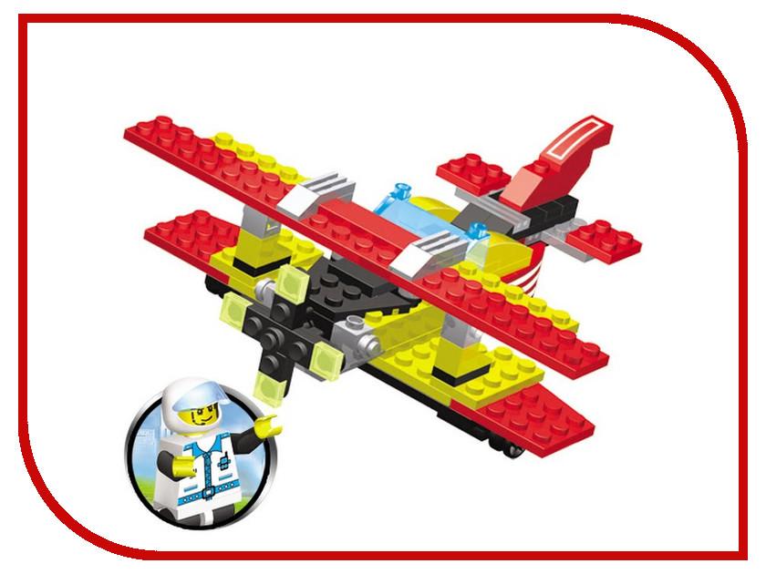 Игрушка Конструктор SuperBlock Авиация Самолет M MF004468