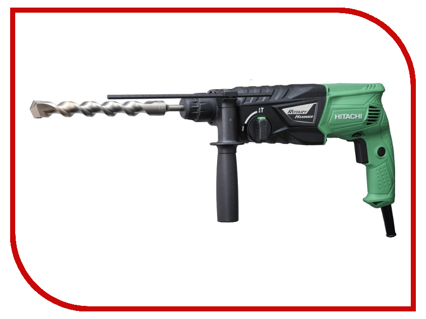 Перфоратор Hitachi DH24PG перфоратор hitachi dh45mr