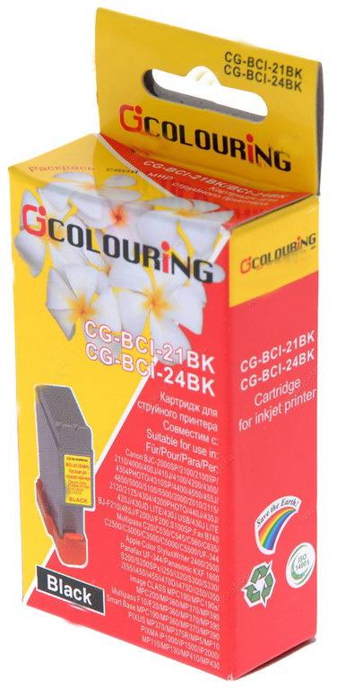 Аксессуар Colouring CG-BCI-21&BCI-24 Black для Canon BJC 4000/S200/S300