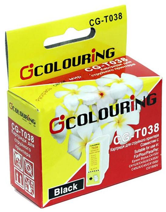 Аксессуар Colouring CG-T038 Black для Epson Stylus C43