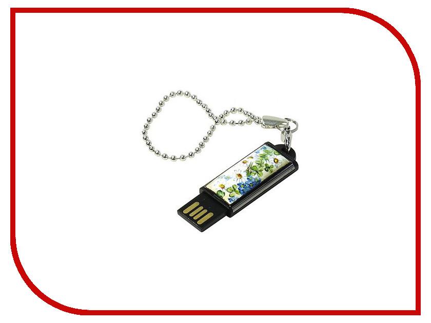 USB Flash Drive 8Gb - Iconik Ромашка финифть MTFF-CHAM-8GB<br>