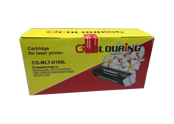Аксессуар Colouring CG-MLT-D105L для Samsung ML-1910/1915/2525/2525W/2580N SCX-4600/4623F/4623GN SF650