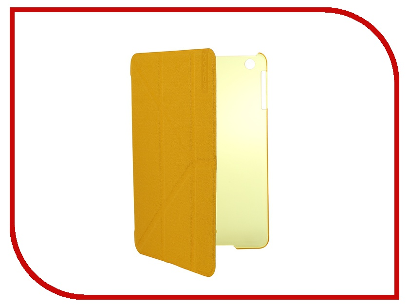 Аксессуар Чехол MOMAX Flip Cover Wise & Clear Touch для iPad mini Yellow