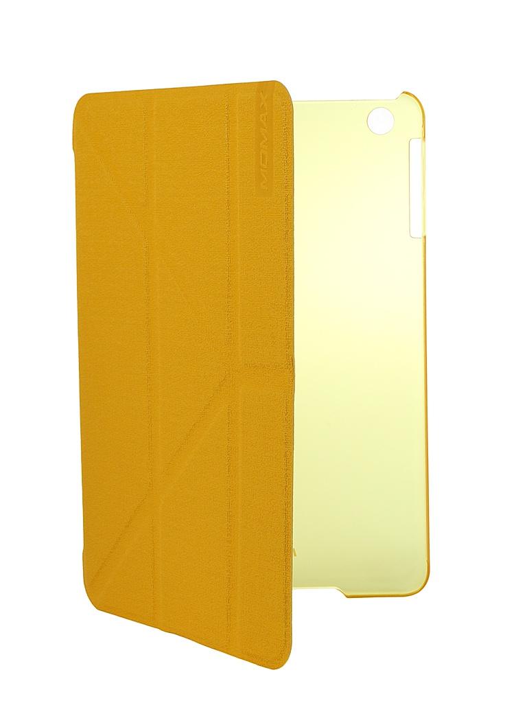 Аксессуар Чехол MOMAX Flip Cover Wise & Clear Touch для iPad mini Yellow