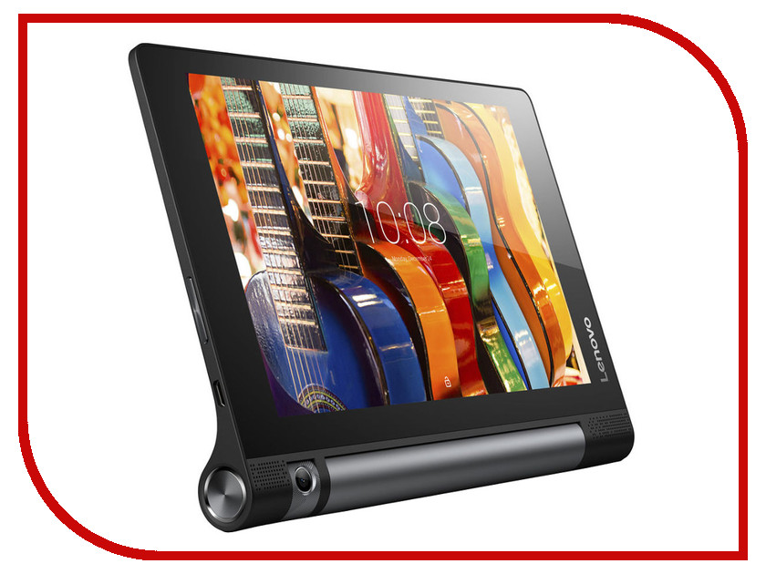 Планшет Lenovo Yoga Tablet 3 8 16Gb 4G YT3-850M Slate Black ZA0B0018RU Qualcomm MSM8909 1.3 GHz/1024Mb/16Gb/Wi-Fi/3G/LTE/Bluetooth/Cam/8.0/1280x800/Android