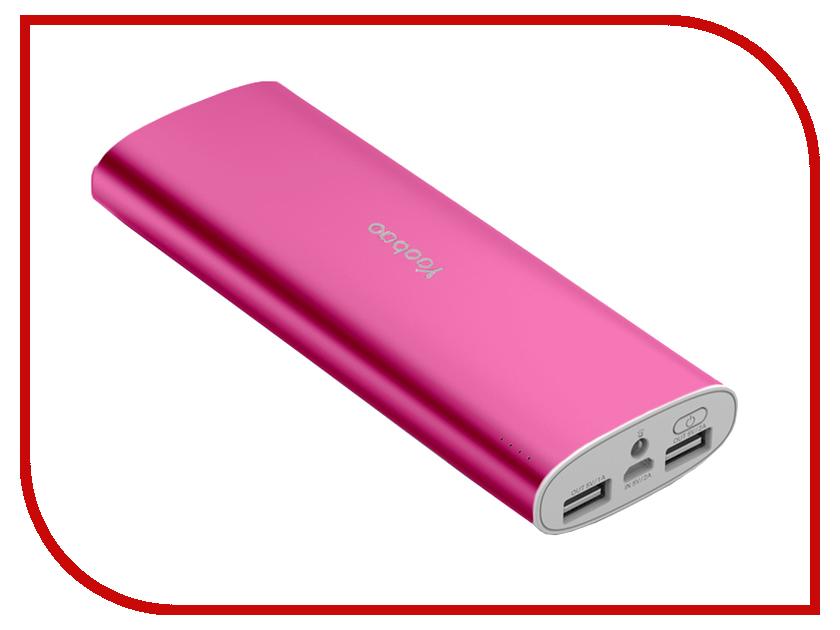 Аккумулятор Yoobao YB-6017 15600mAh Pink аккумулятор yoobao magic cube ii yb 659 13000mah