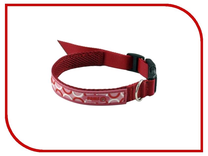Ошейник Crazy Paws POP ART Medium 41x2cm Red DPETC013-POP-RD