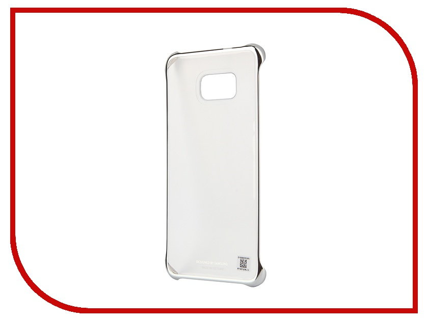 Аксессуар Чехол-накладка Samsung SM-G928 Galaxy S6 Edge+ Clear Cover Silver SAM-EF-QG928CSEGRU samsung sm g925f galaxy s6 edge 32 gb emerald