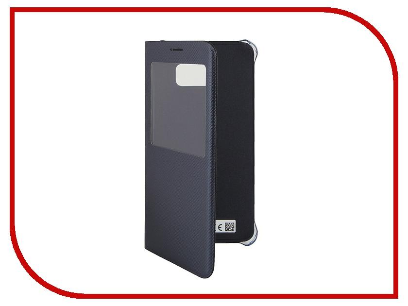 Аксессуар Чехол Samsung SM-G928 Galaxy S6 Edge+ S-View Black SAM-EF-CG928PBEGRU<br>