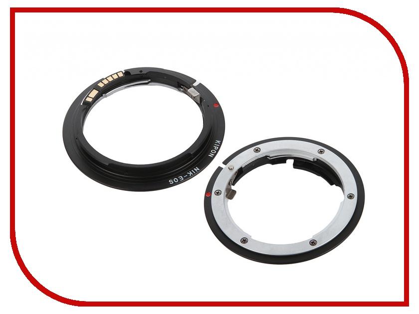 Переходное кольцо Kipon Adapter Ring Nikon F - Canon EOS с датчиком AF