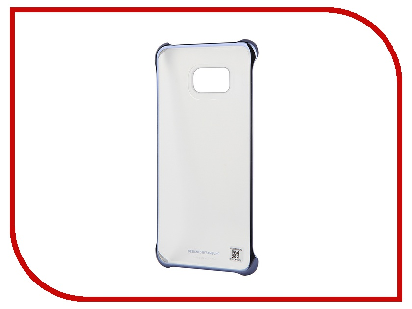 Аксессуар Чехол-накладка Samsung SM-G928 Galaxy S6 Edge+ Clear Cover Black SAM-EF-QG928CBEGRU<br>