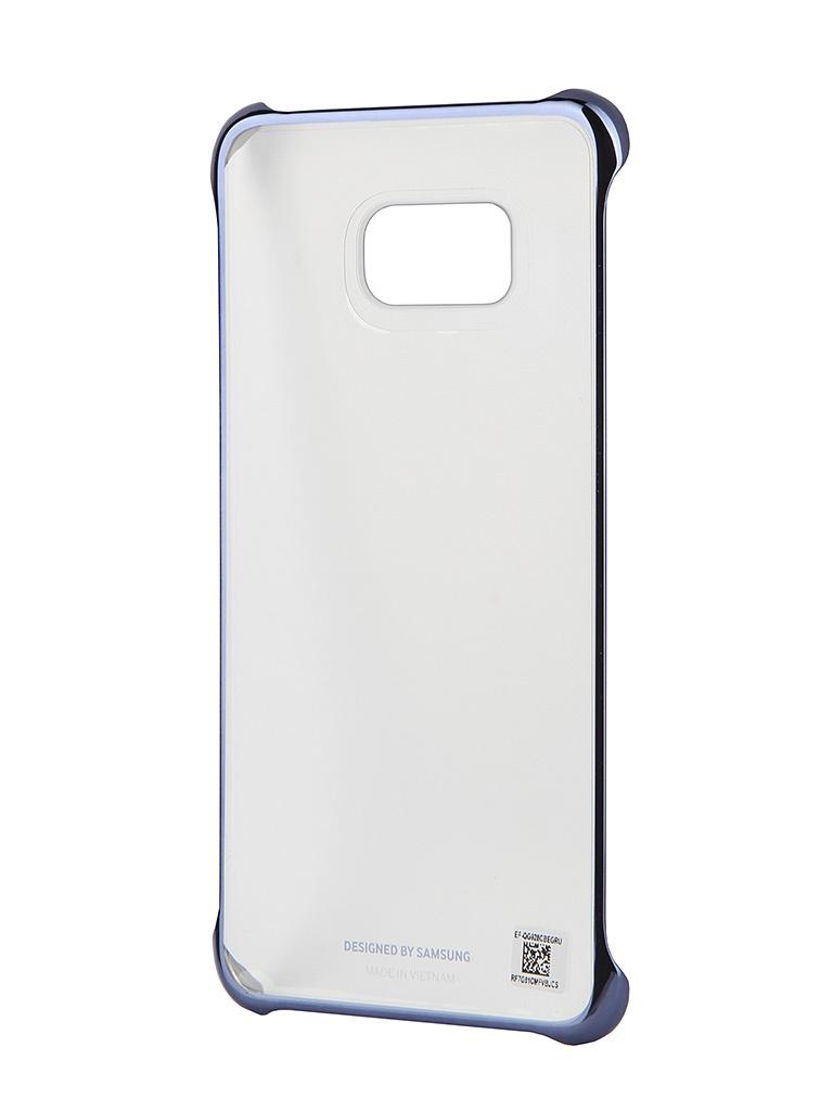 Аксессуар Чехол Samsung SM-G928 Galaxy S6 Edge+ Clear Cover Black SAM-EF-QG928CBEGRU<br>