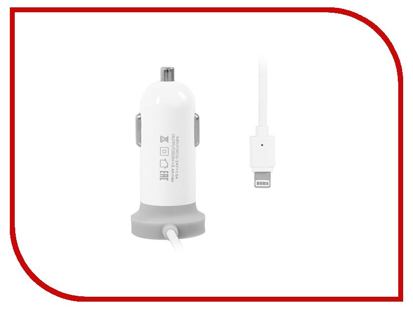 Зарядное устройство Ainy 2400 mAh для iPhone 5/5S/5C/6/6 Plus White EA-028B<br>